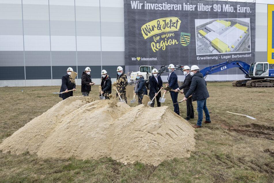 Knapp 93 Millionen Euro für Edeka-Logistikzentrum in Sachsen