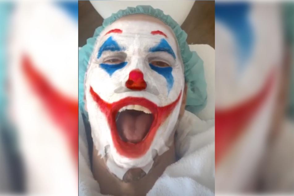 Jorge Gonzalez verwandelte sich bei einer Schönheitsbehandlung in den Joker.