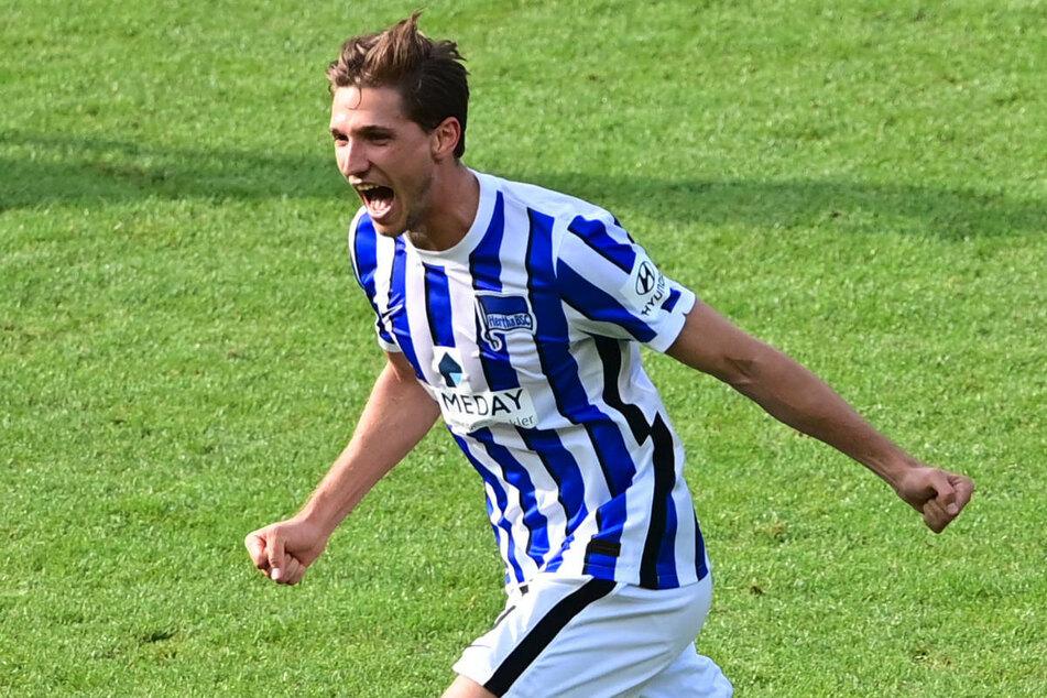 Auch Niklas Stark (26) darf sich dank seiner starken Leistung über eine Nominierung für die Sportschau-Elf des Spieltags freuen.