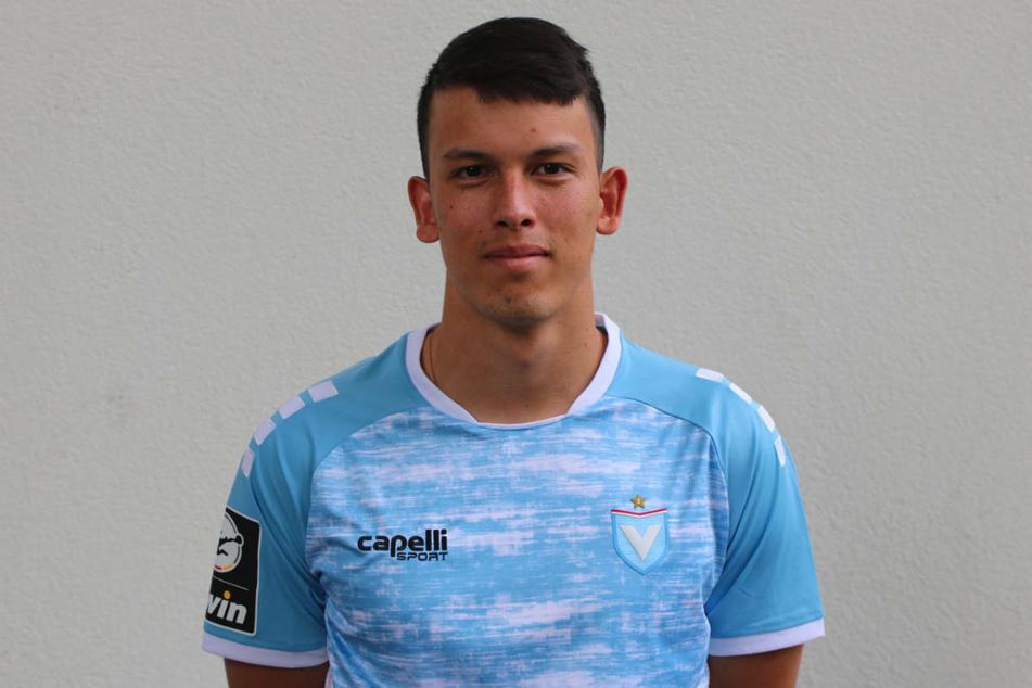 Stürmer Pasqual Verkamp (23) wechselt vom Regionalligisten FC Carl Zeiss Jena zum Drittligisten FC Viktoria 1889 Berlin.
