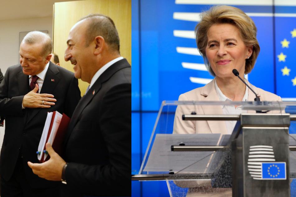 EU-Spitzen bekennen sich zum Flüchtlingspakt mit der Türkei trotz Bruch vonseiten Erdogans