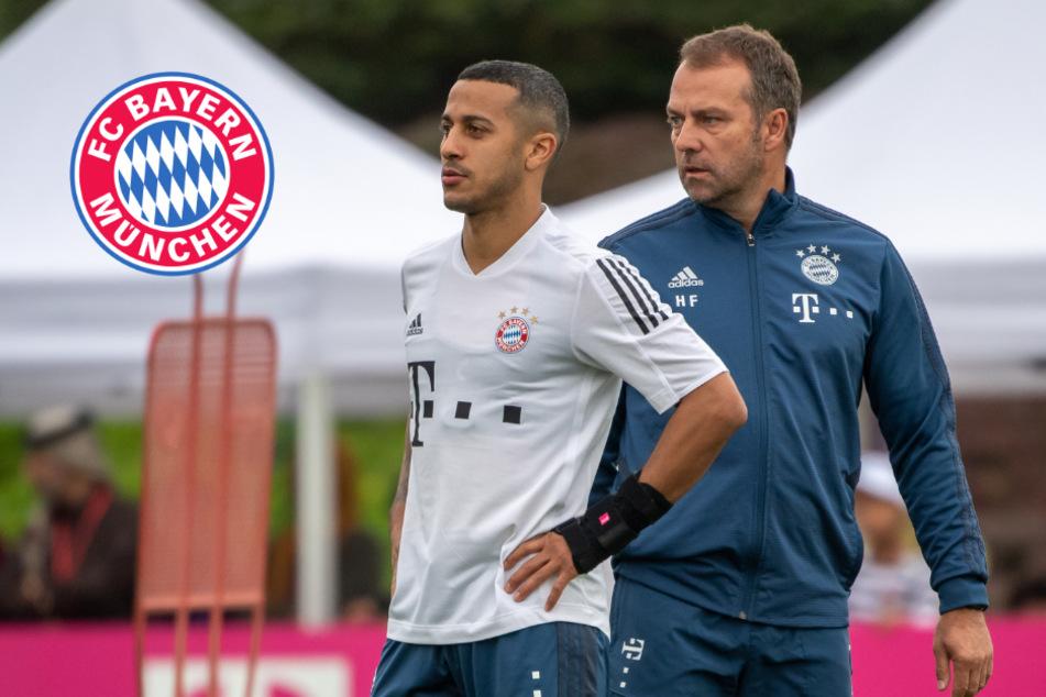 Thiago will den FC Bayern verlassen: Hansi Flick findet deutliche Worte