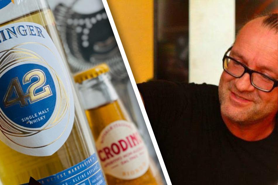"""Dresdens Bar-Legende Ulf Neuhaus hat extra was """"Goldiges"""" kreiert."""