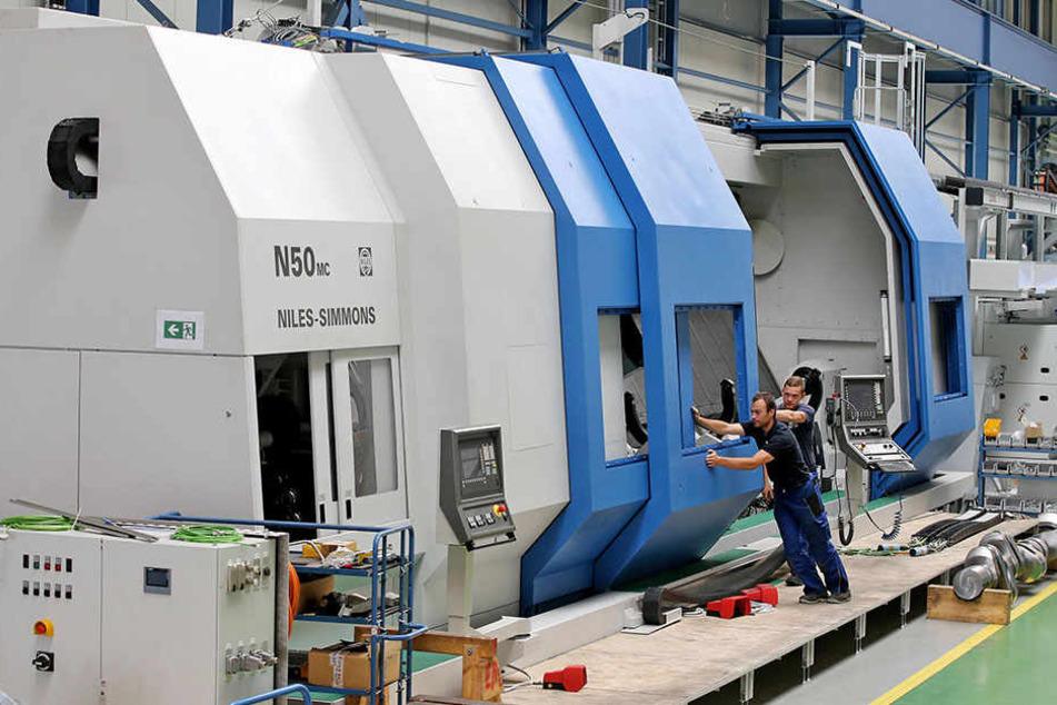 Produkte aus dem Maschinenbau sind nach Autos der zweitwichtigste sächsische Exportschlager für die Insel.