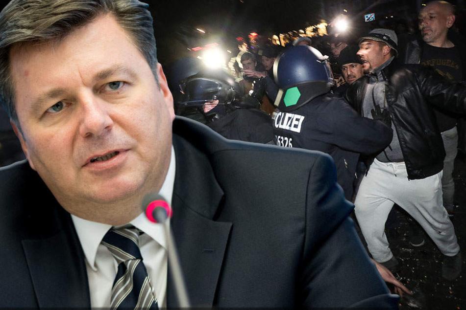 Die Polizei sprach von 8000 Teilnehmer, ein Demo-Sprecher sogar von 20.000.