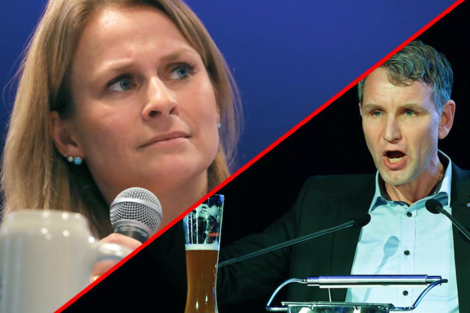 Bayerische AfD-Chefin Miazga hofft auf Einigung der Partei nach Höcke-Einlenken