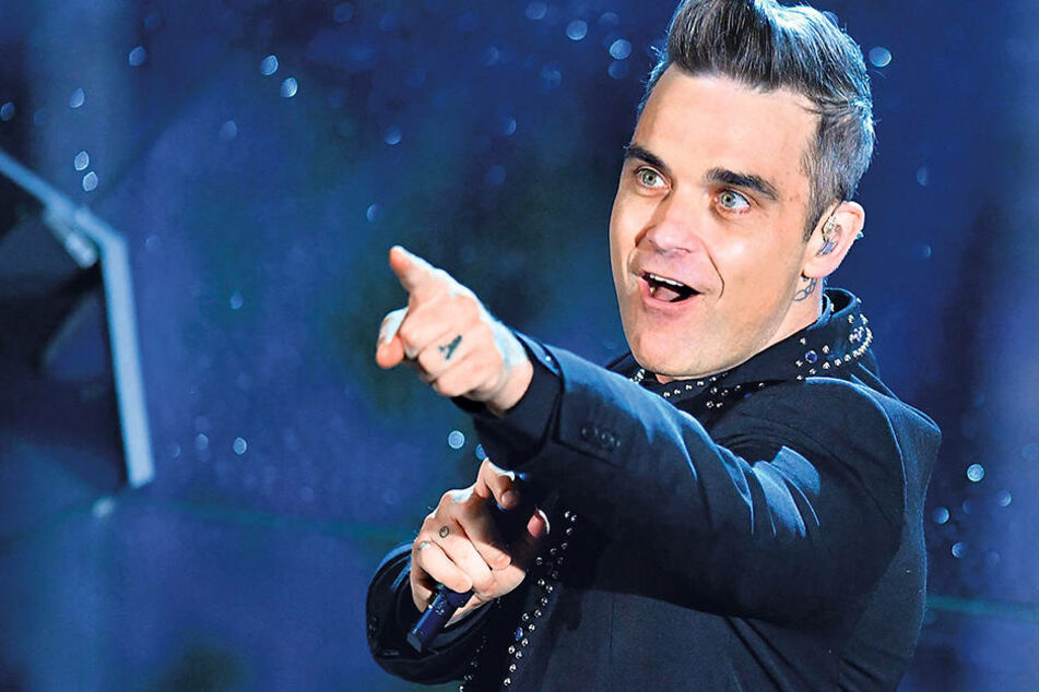 Bald zurück in Dresden: Robbie Williams (43).