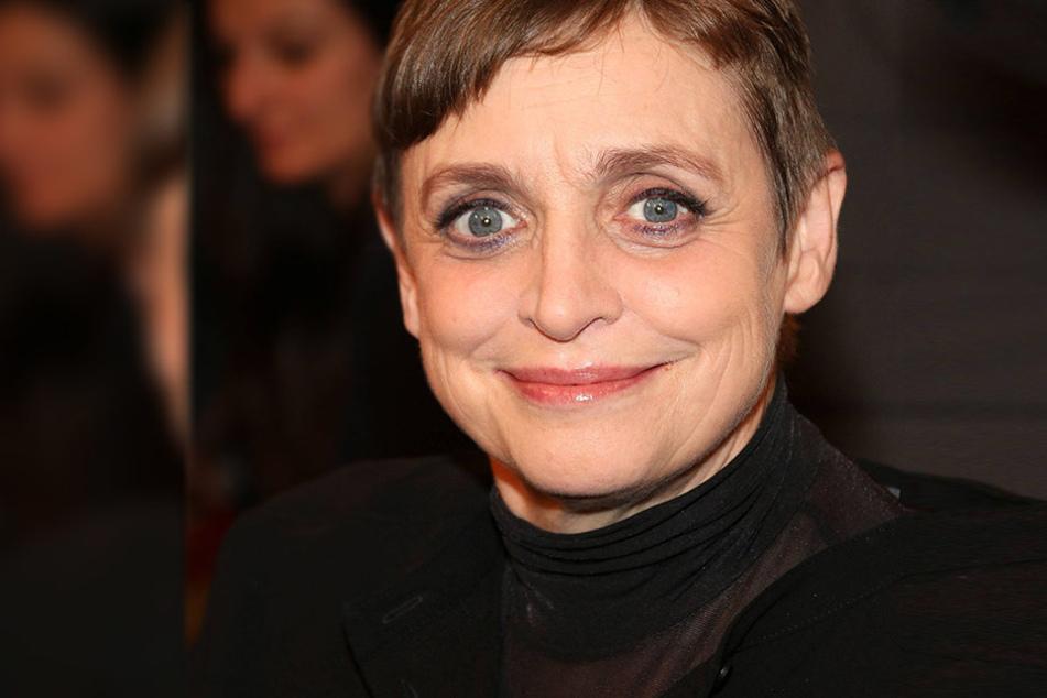 Schauspielerin Katharina Thalbach (62) erhielt als erste Schauspielerin den Jacob-Grimm-Preis.