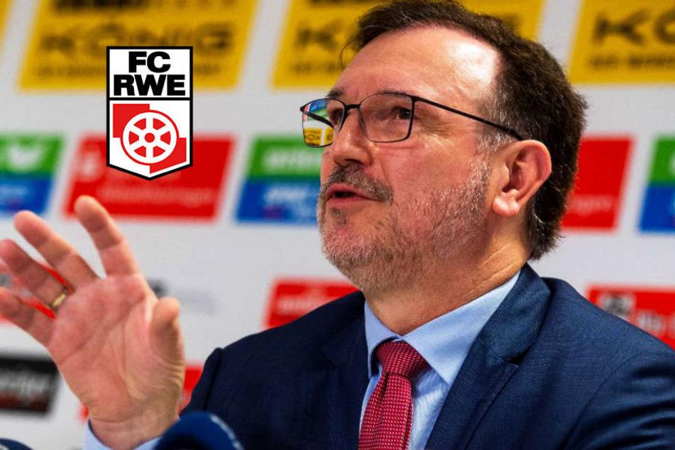 Neuer Schlag bei RWE! Verein hat Rückstände bei der Stadion-Miete