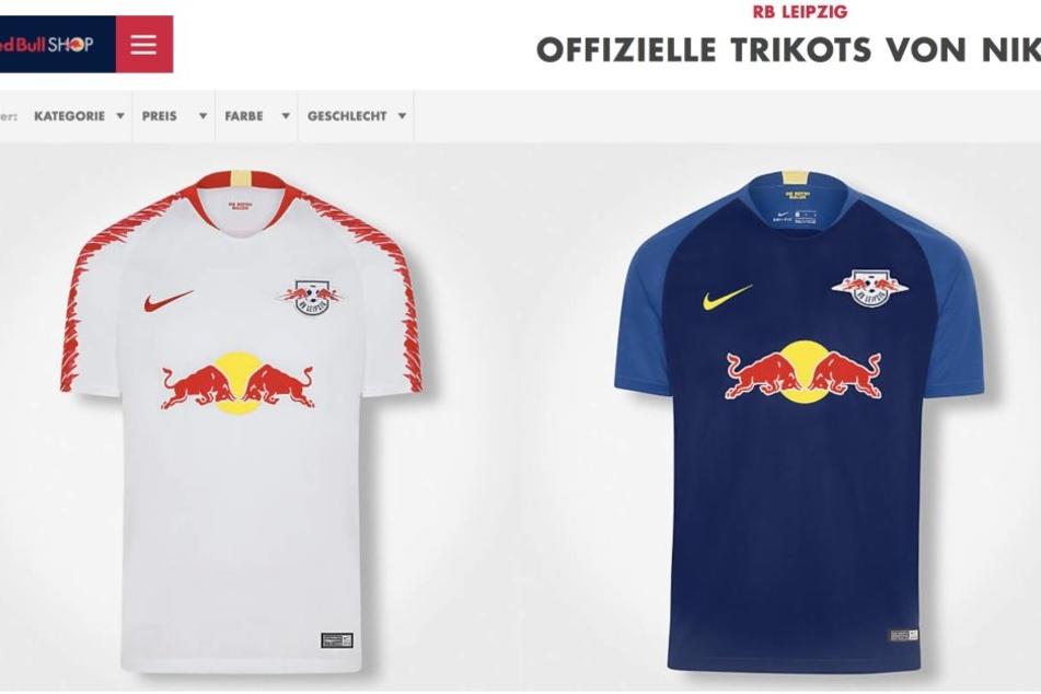 Panne Oder Gewollt Rb Leipzig Verkauft Neue Trikots Schon Vor Der
