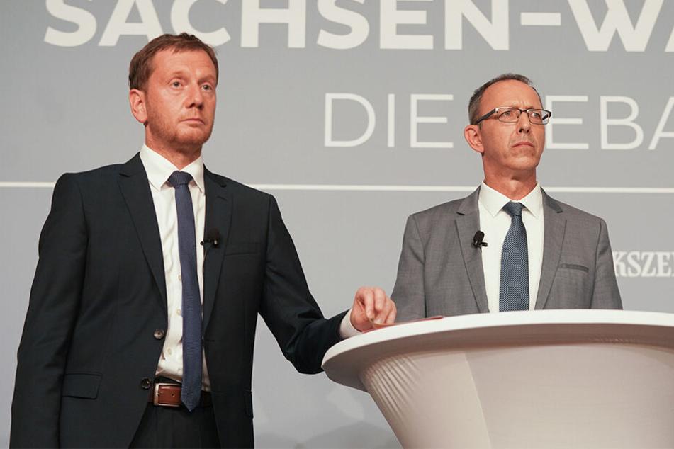 Umfrage-Beben vor Sachsen-Wahl! CDU hängt plötzlich die AfD ab