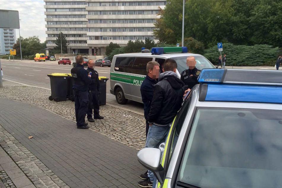 Nach der Schlägerei hat die Polizei die Ermittlungen aufgenommen.