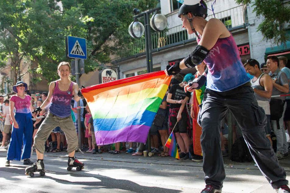 Um 15.30 Uhr startet die Parade. (Archivbild)