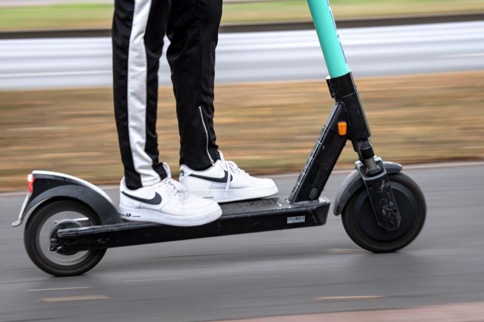 Für E-Scooter gelten die gleichen Promille-Grenzen wie für Autofahrer. (Archivbild)