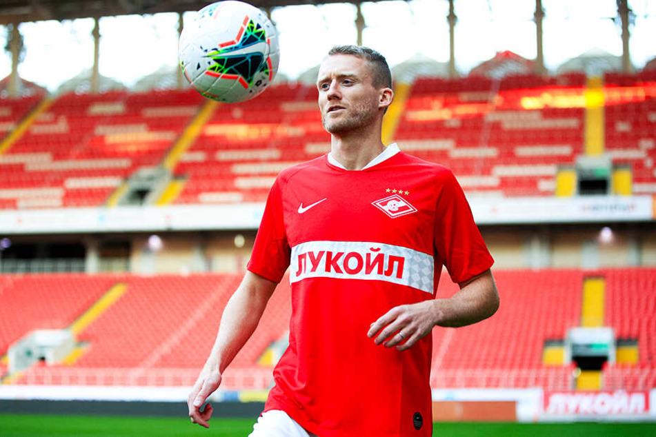André Schürrle flog mit Spartak Moskau in den Europa-League-Playoffs gegen Sporting Braga raus.