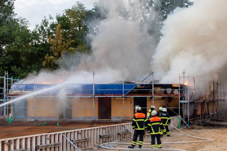 Explosionen und Feuer zerstören Traum vom neuem Vereinsheim