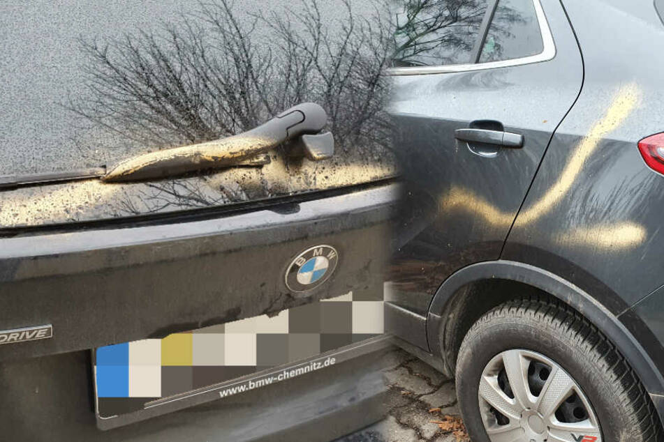 Chemnitz: Farbattacke in Chemnitz! Dutzende Autos besprüht