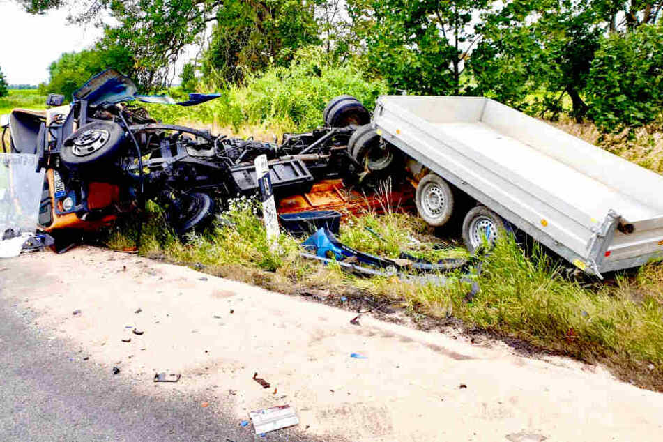 Horror-Crash in Brandenburg: Frau tot!