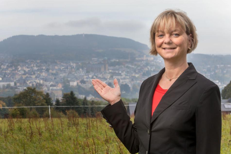 Veronika Hiebl (47), Chefin vom Tourismusverband Erzgebirge.