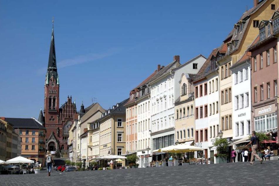 Auf dem Altenburger Markt gibt es bald Gratis-Internet für Alle.