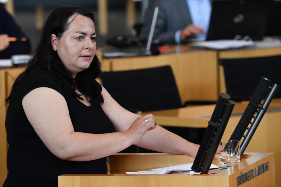 Katharina König-Preuss sitzt für die Linke im Landtag.