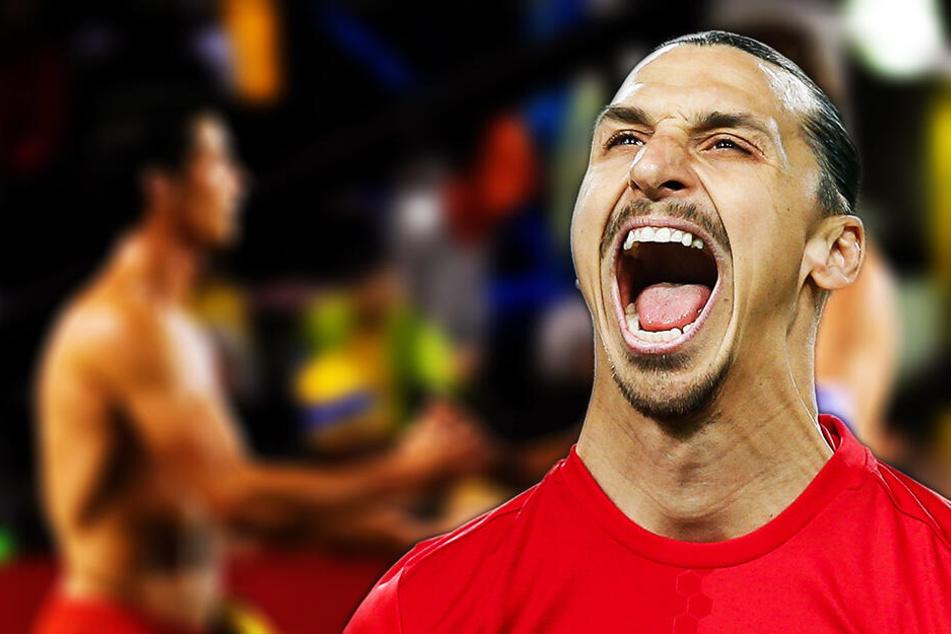 """""""Super Zlatan"""" knüpft sich Cristiano Ronaldo vor: """"Es ist Schwachsinn"""""""