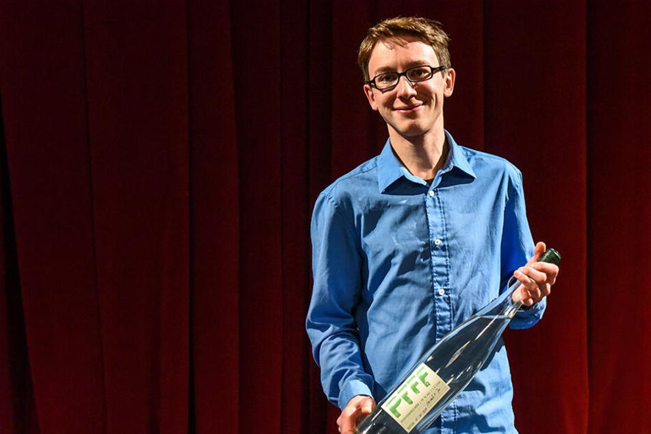 Hank M. Flemming ist der neue Sächsische Meister im Poetry Slam.