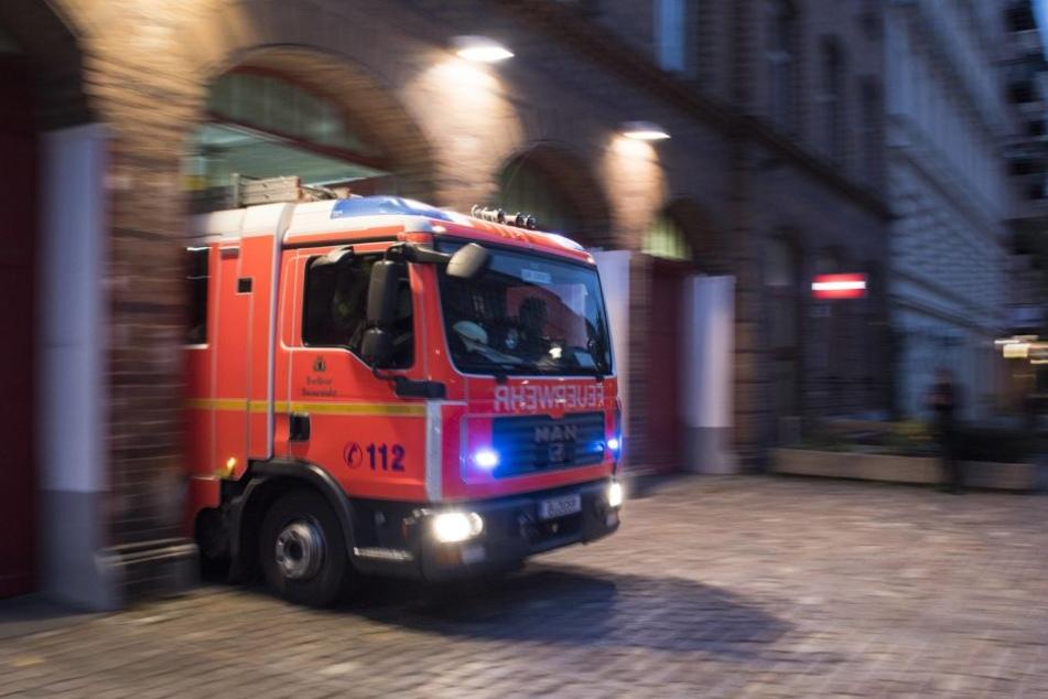 Feuer im Ortskern von Breuna: Fachwerkhaus brannte fast vollständig ab