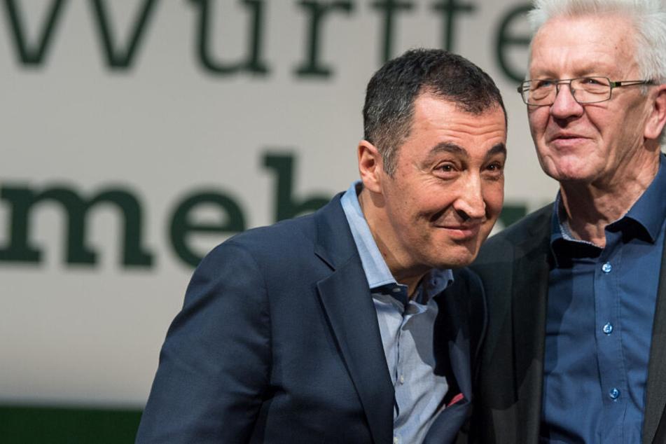 Kanzlerfrage: Kretschmann redet über Özdemir und verärgert die Grünen-Spitze