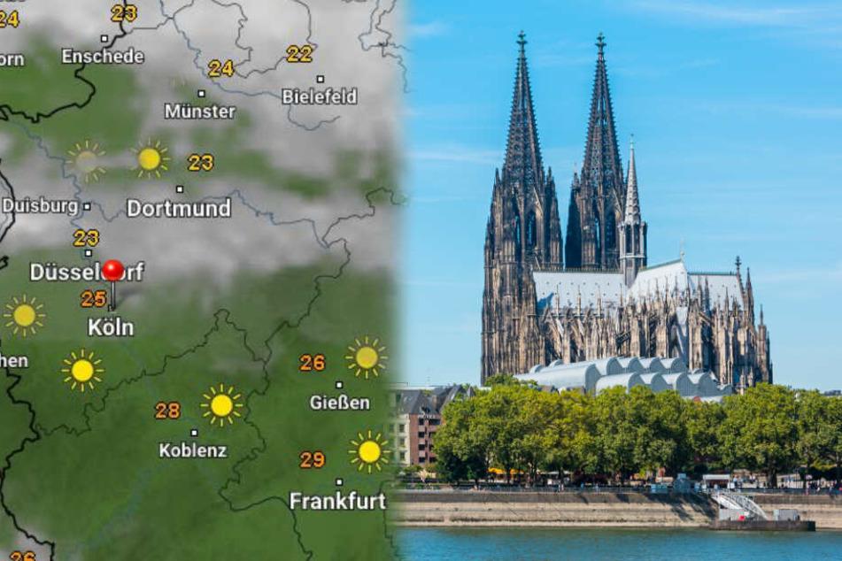 Wetterprognose für NRW: Das Wochenende wird kühler!