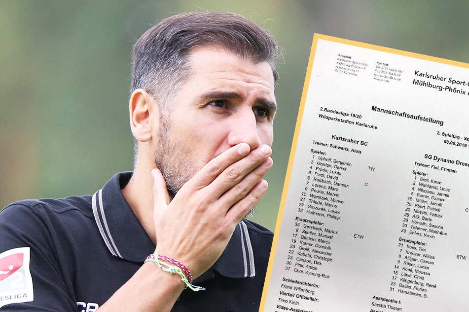Hat sich Cristian Fiel mit der Aufstellung in Karlsruhe verpokert?