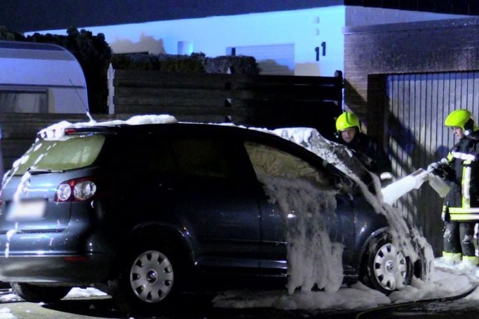 Bei dem Unfall wurde niemand verletzt.