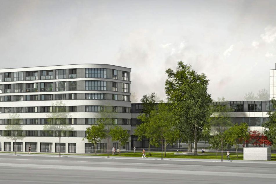 """49 Jahre nachdem das """"Gästehaus des Ministerrats der DDR"""" als Hotel erbaut wurde, wird es zu einem Wohnkomplex umgestaltet."""