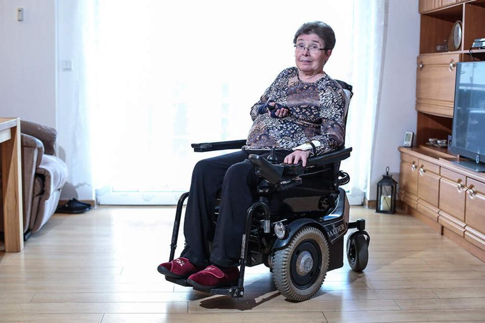 Seit mehr als drei Jahrzehnten leidet Christine Beier (67) unter der Nervenkrankheit Multiple Sklerose (MS).