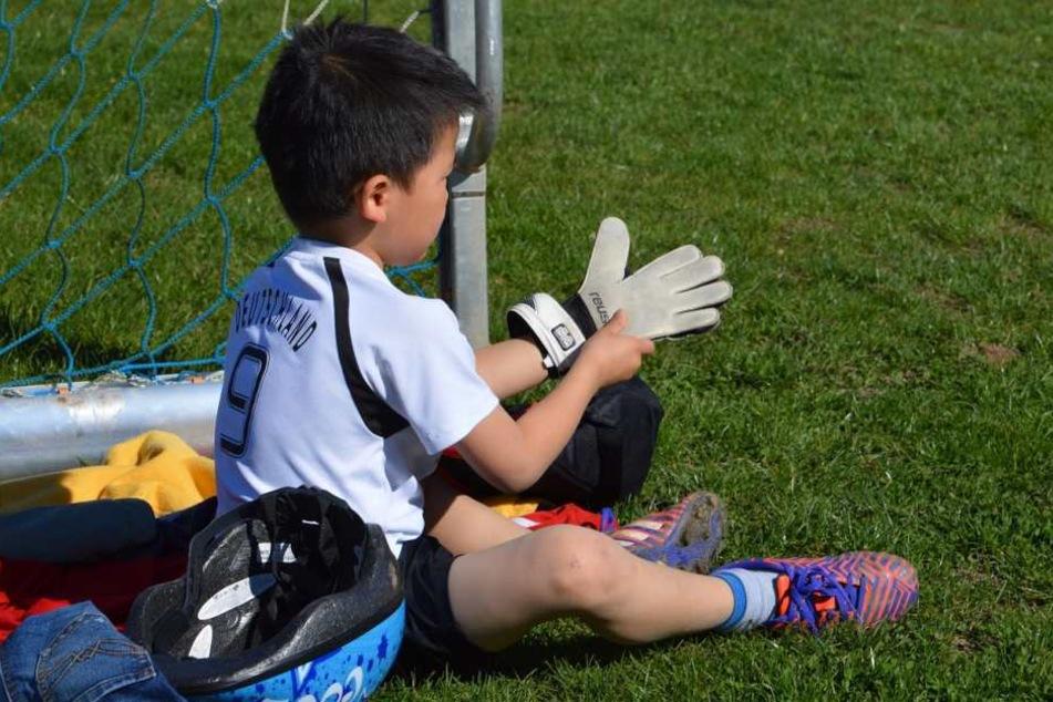 Schon für die Kleinen ist geeignete Sportbekleidung sinnvoll.
