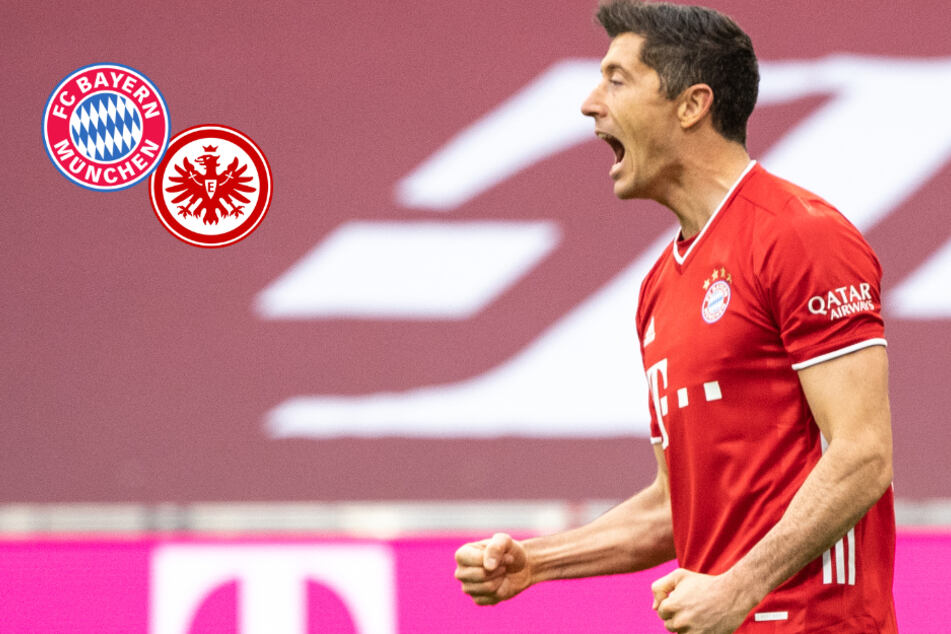 FC Bayern zerlegt Eintracht Frankfurt dank erneuter Lewandowski-Sternstunde