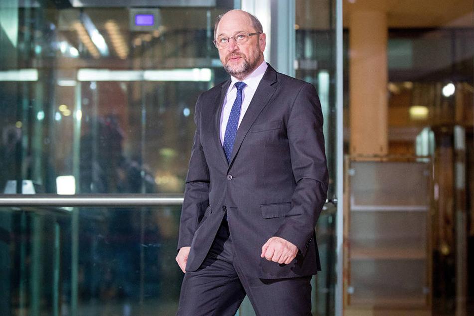 Nur noch 16 Prozent würden die SPD laut einer Umfrage wählen. Auch Martin Schulz hat daran eine Aktie.