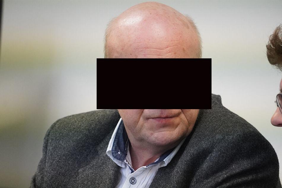 Lkw-Fahrer Rüdiger S. (54) schwieg vor Gericht.