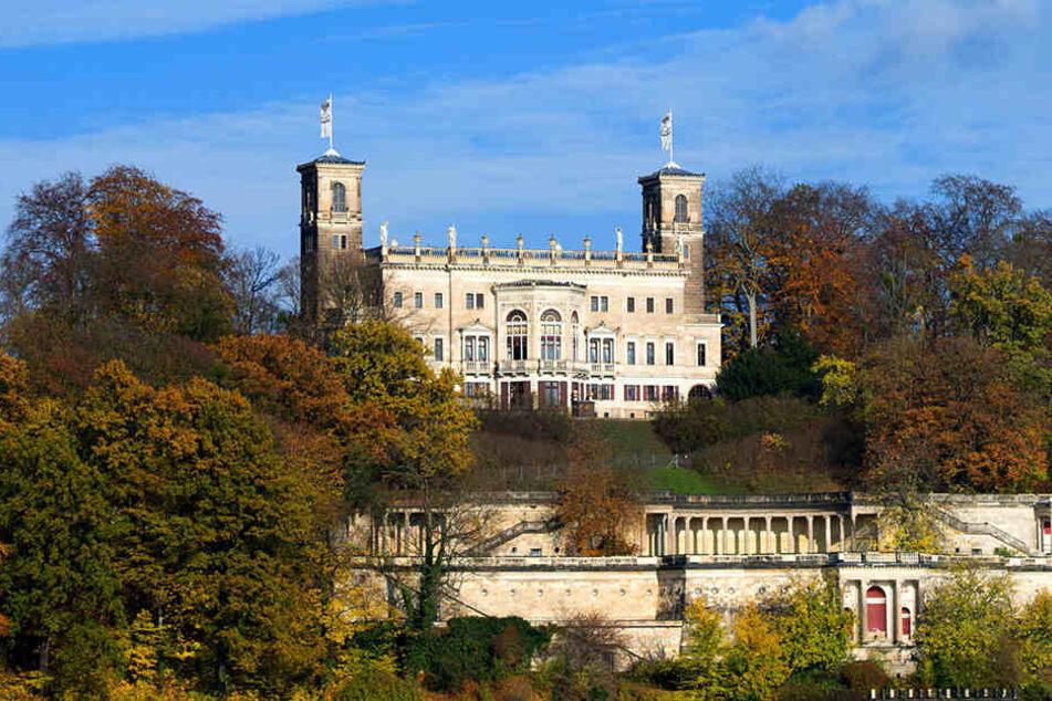 Wer etwas tiefer in die Tasche greifen möchte, kann im Schloss Albrechtsberg heiraten.