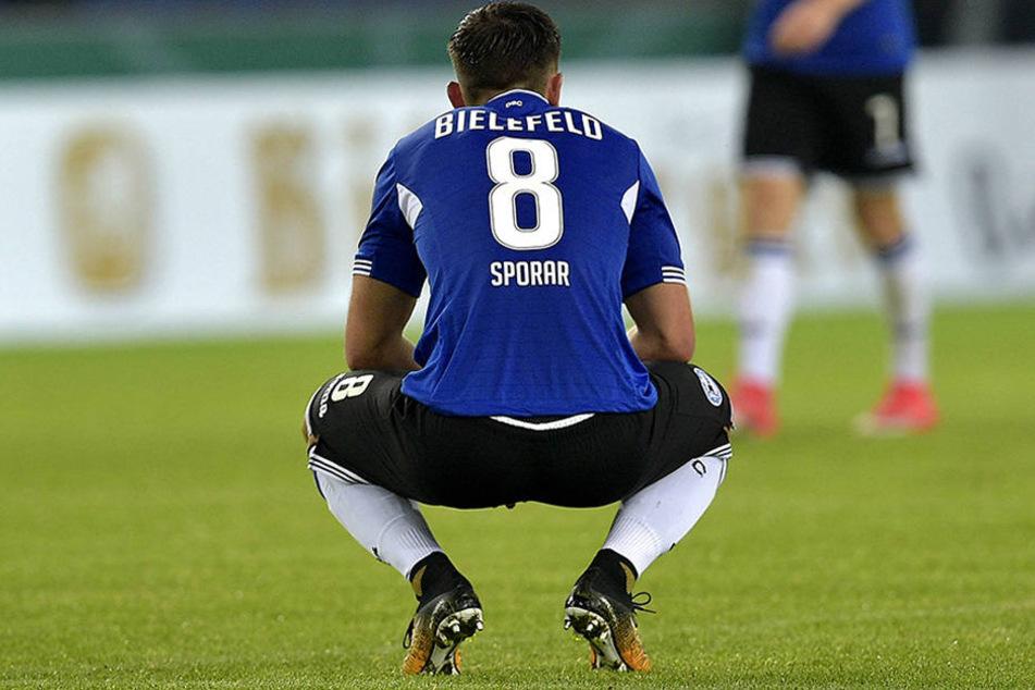 Andraz Sporar (23) hat keine Zukunft mehr beim DSC Arminia Bielefeld.