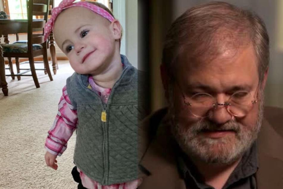 Seine Enkelin rutschte ihm aus den Händen, sagte der Großvater im Interview.