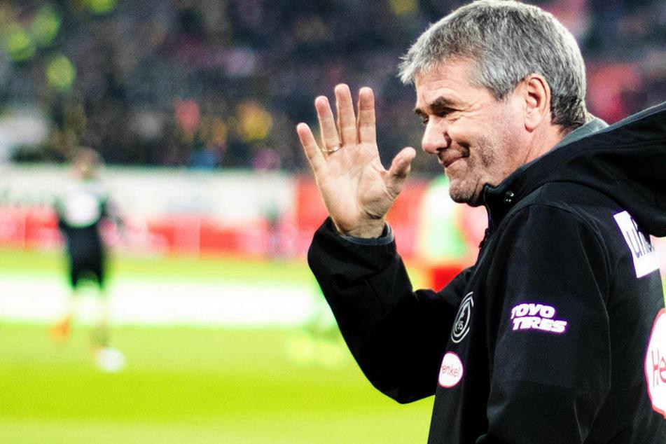 Vier Siege aus den jüngsten vier Spielen hat Trainer Friedhelm Funkel mit Fortuna Düsseldorf geholt.