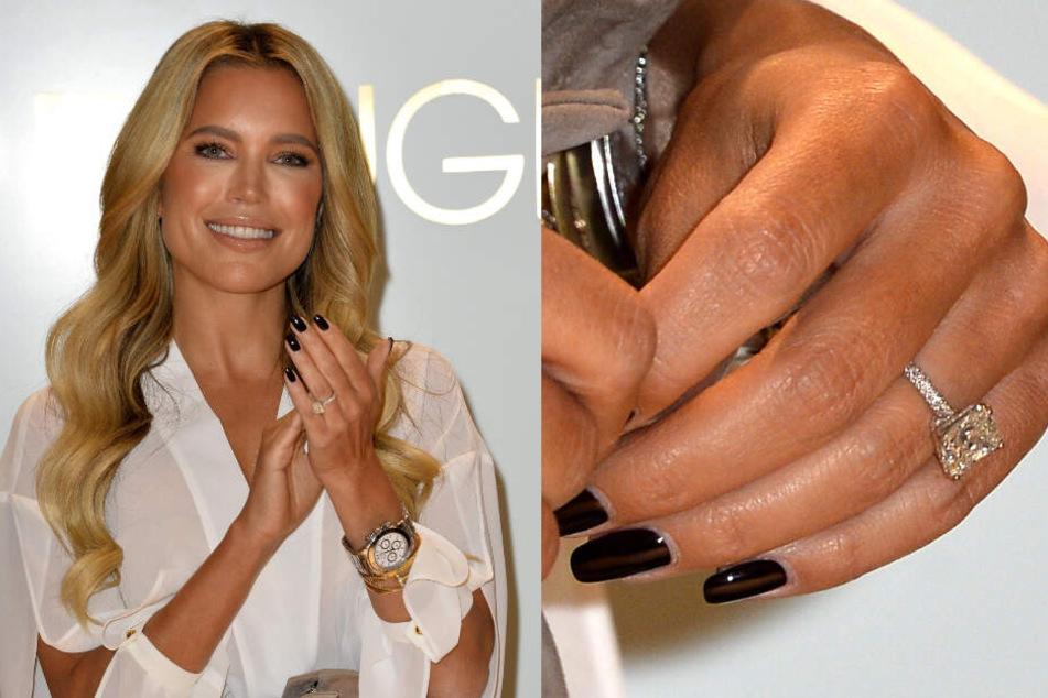An Sylvies Ringfinger funkelt ein verdächtiger Ring.