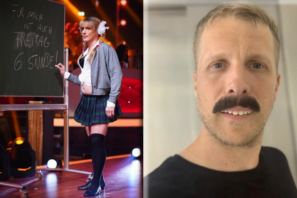 Oliver Pocher (41) am 12. April als Britney Spears und am 27. April als Freddie Mercury.