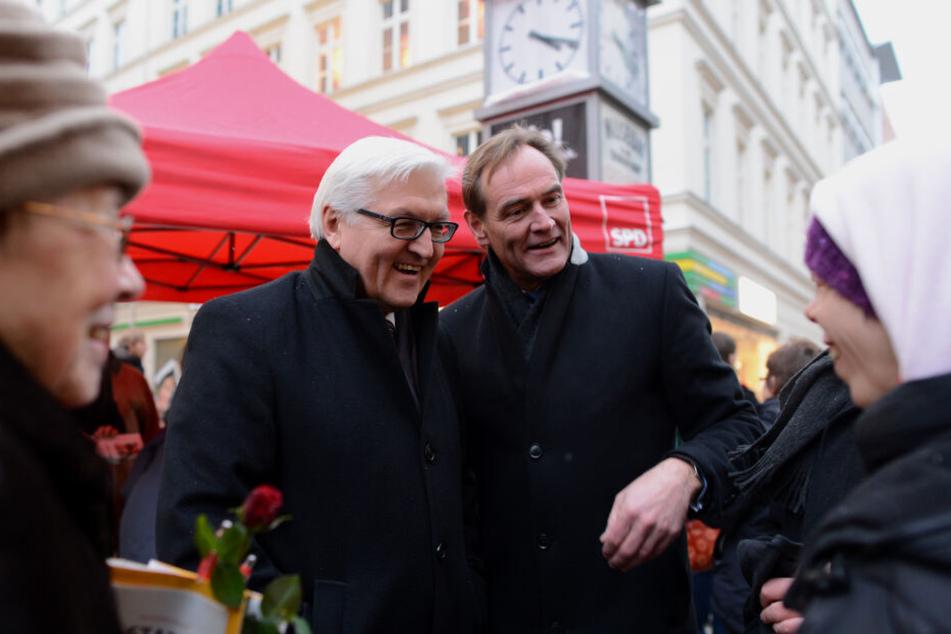 Steinmeier war bereits 2013 zu Besuch in Leipzig, damals noch als Fraktionsvorsitzender der SPD.