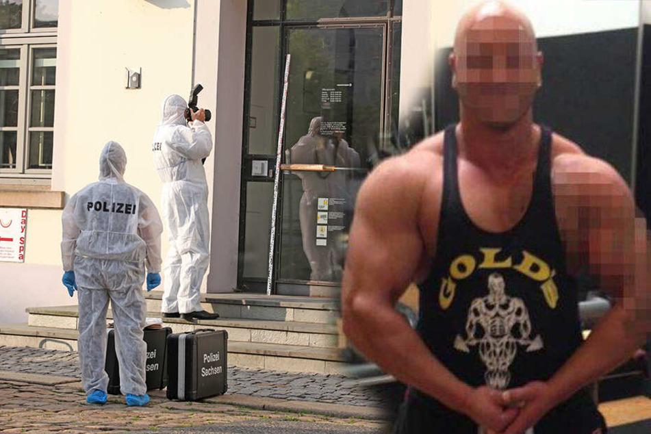 Bodybuilder stirbt in Bankfiliale: Polizisten ab Herbst vor Gericht