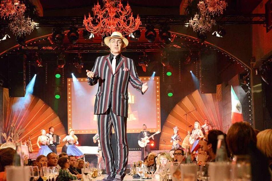 """Während der Pate bei """"Mafia Mia - Fiesta Mexicana"""" seine Show abzieht, wird hinter den Kulissen gewirbelt. Bis 14. Januar läuft die Show."""