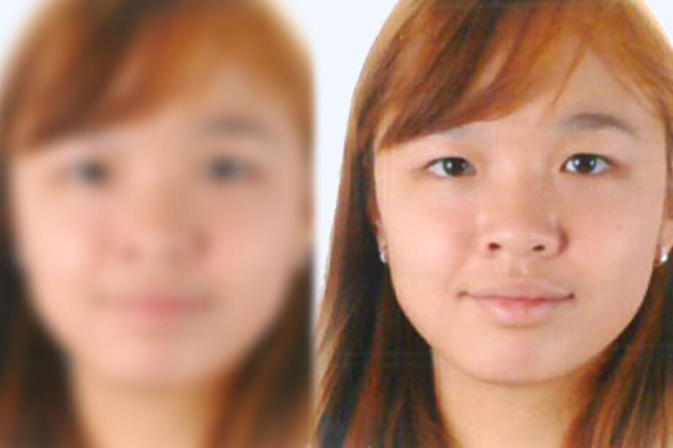 Das Foto zeigt die vermisste 20-Jährige aus Aschaffenburg.