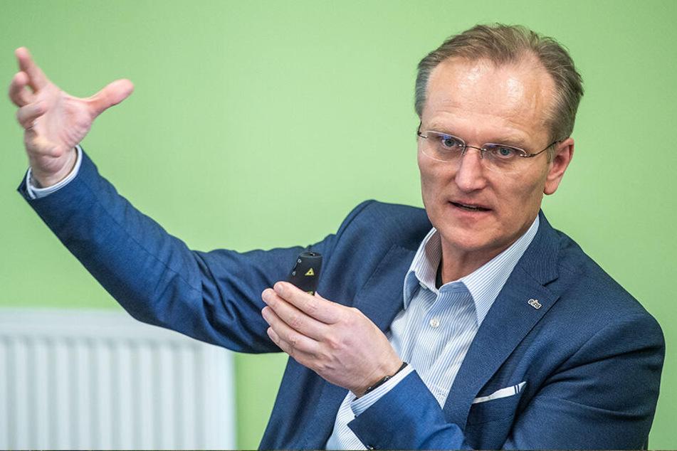 Hat bis 2029 große Pläne: Eins-Chef Roland Warner (55).