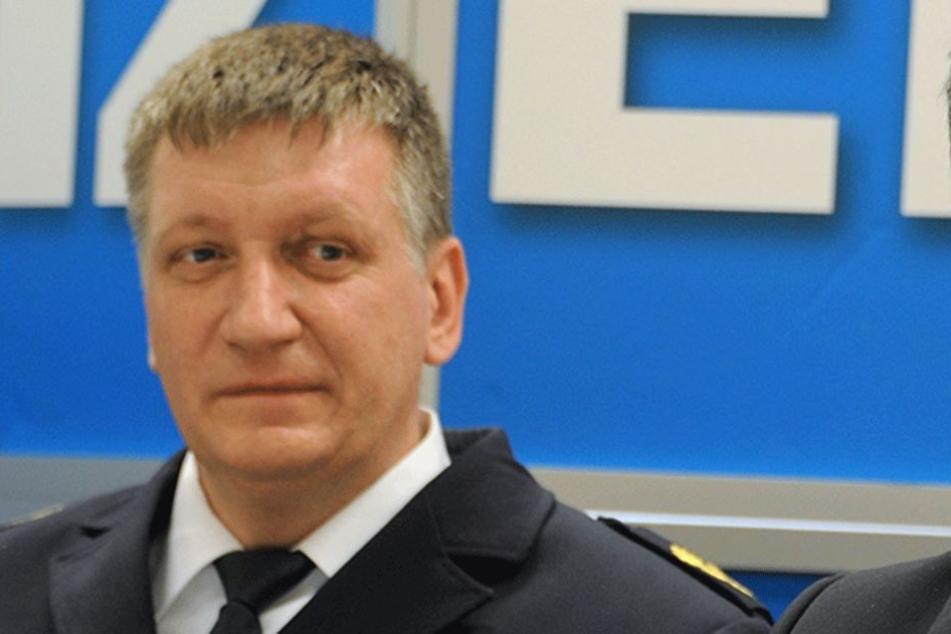 Der Leiter der Polizeidirektion Süd, Sven Bogacz.